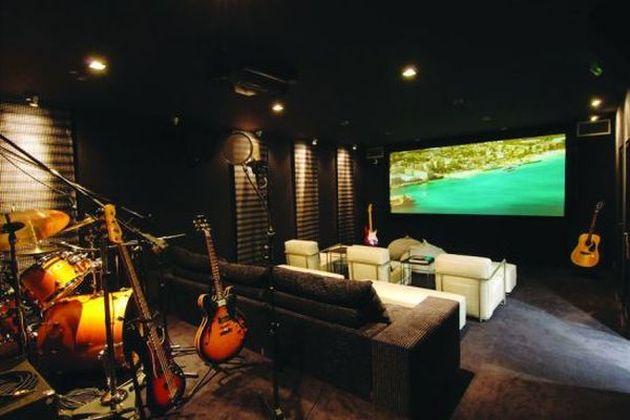Recording Studio at Villa Rock Star