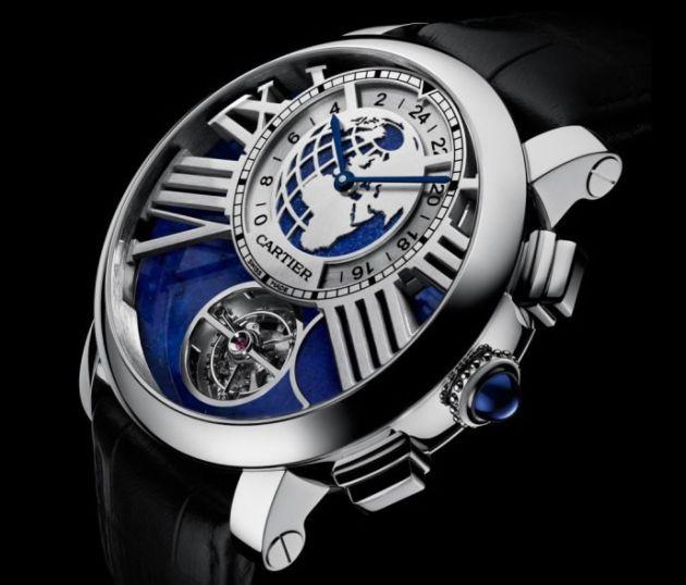 Rotonde de Cartier Earth Moon Watch